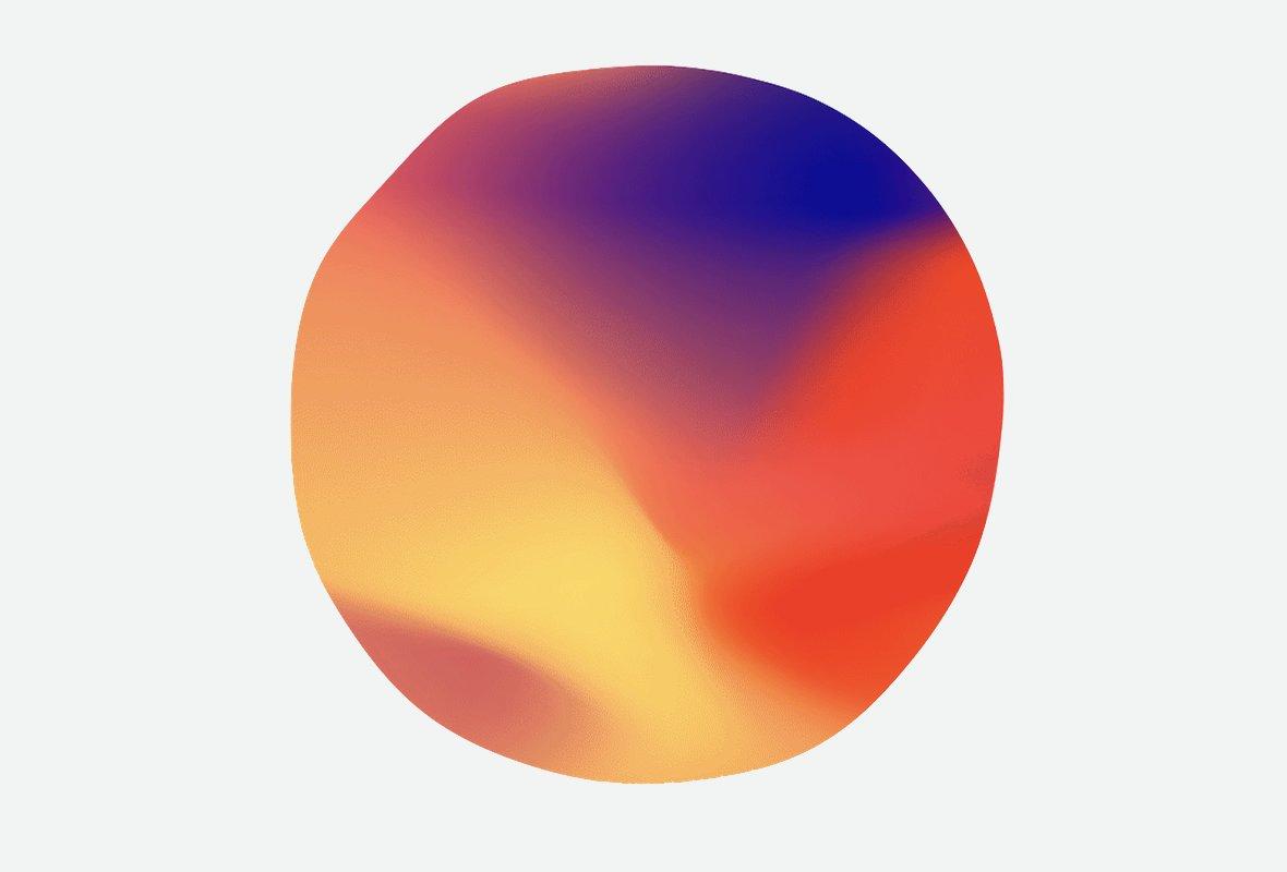 Painted blob